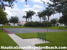 Nautica Sound provides a place to shoot some hoops after a day at the office.